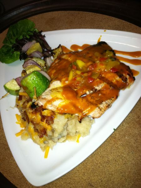 Open Water Grill: Hatteras Restaurant Avon NC, Salmon Grill
