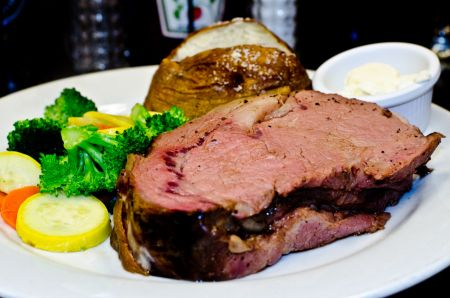 Awful Arthur's Oyster Bar, Prime Rib Dinner Special