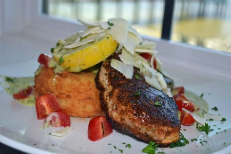 Miller's Waterfront Restaurant, Fish & Grits