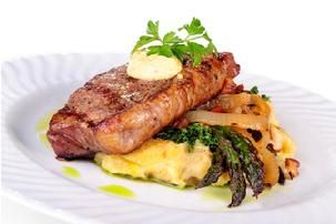 Ocean Boulevard Bistro & Martini Bar, Grilled Angus Beef Tenderloin or New York Strip