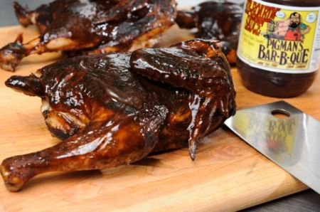 Pigman's Bar-B-Que, SMOKED BBQ CHICKEN
