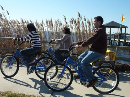 Just For the Beach Rentals, DITCH THE CAR AND RIDE A BIKE