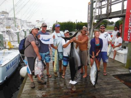 Pirate's Cove Marina, Mixed bag and Marlin!