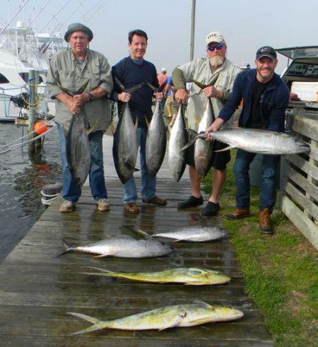 Oregon Inlet Fishing Center, Fishing Report 4-18-15