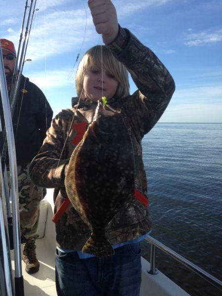Oregon Inlet Fishing Center, In Shore Flounder