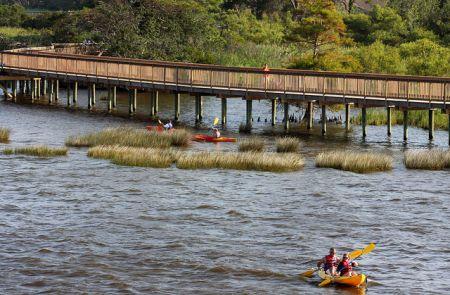 Duck Town Park, Kayaking