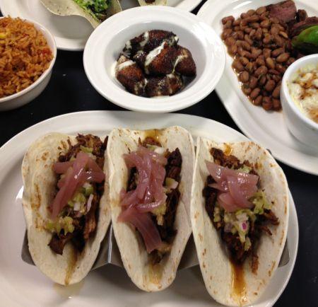Agave Roja Mexican Restaurant Corolla NC, Tacos de Asada