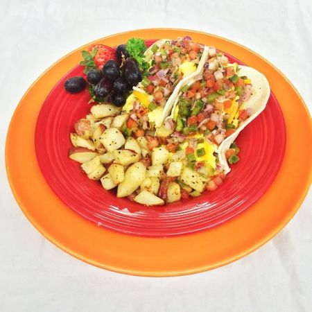 Sunset Grille and Raw Bar, Breakfast Tacos