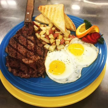 Sunset Grille and Raw Bar, Steak & Eggs