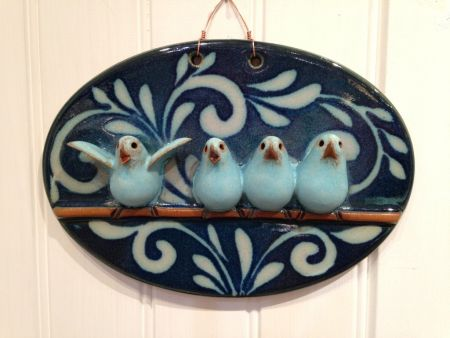 SeaDragon Gallery in Duck NC, Bird Family Plaque
