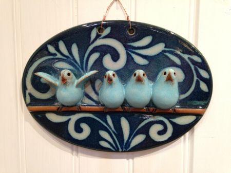 SeaDragon Gallery, Bird Family Plaque