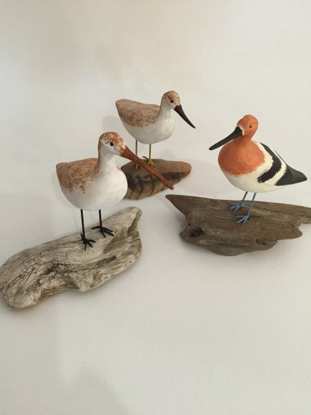 SeaDragon Gallery in Duck NC, Handcarved Shorebird