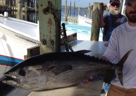 Albatross Fleet, Yesterday's 37 lb. blackfin