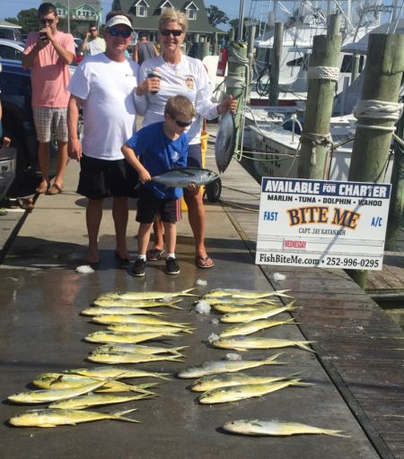 Bite Me Sportfishing Charters, Robert Suzanne and Joe!