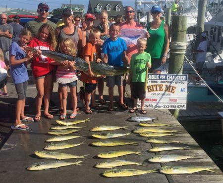 Bite Me Sportfishing Charters, Parents Day Off! (shore)