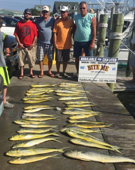 Bite Me Sportfishing Charters, Afternoon Rally!