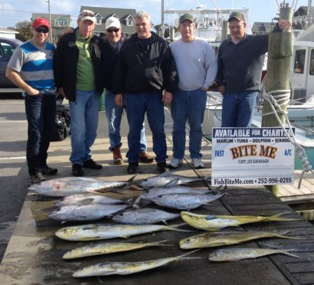 Bite Me Sportfishing Charters, March 25th Report
