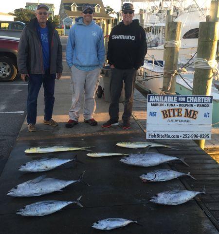 Bite Me Sportfishing Charters, Fall Fishing!