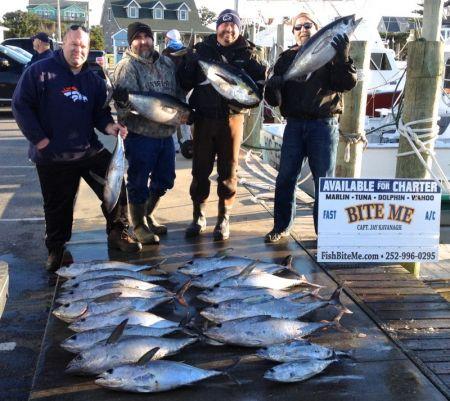 Bite Me Sportfishing Charters, Fat Blackfin Tunas!
