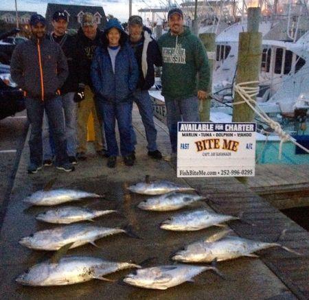 Bite Me Sportfishing Charters, Yellowfins!