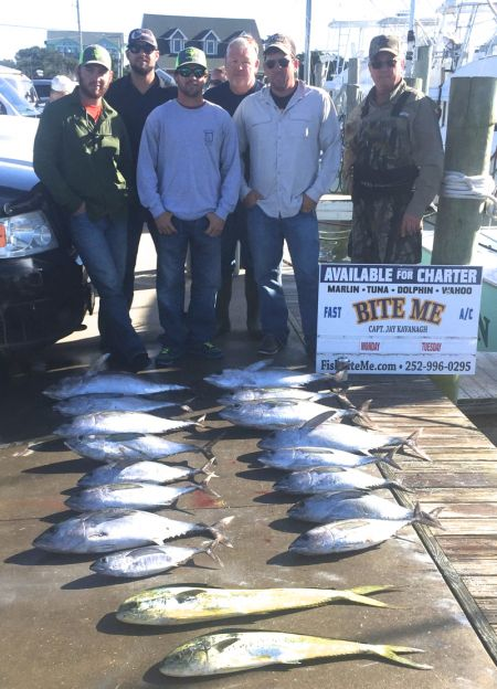 Bite Me Sportfishing Charters, Fall Tunas!