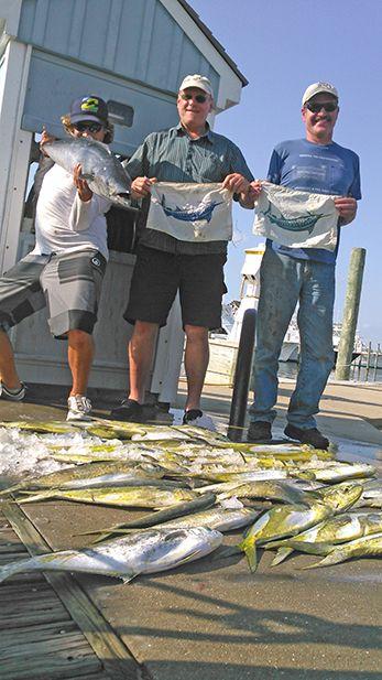 Tuna Duck Sportfishing, Fantastic Day Offshore Hatteras