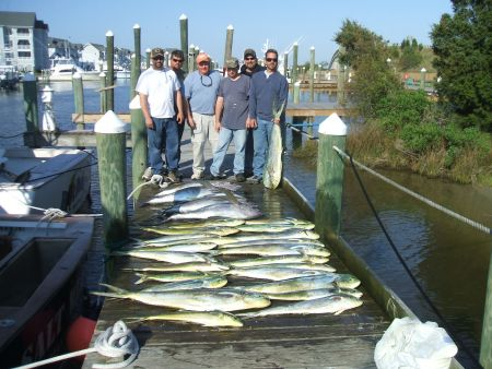 A-Salt Weapon Charters, Yellowfin Tuna, Blue Marlin and Dolphin