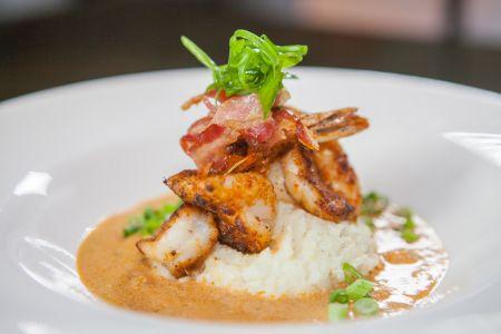 Red Sky Cafe, Chef Wes' Shrimp N' Grits