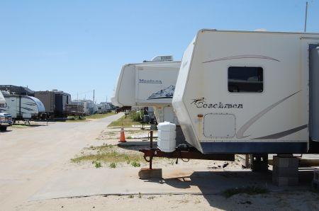 North Beach Campground, Rent an RV on Beach