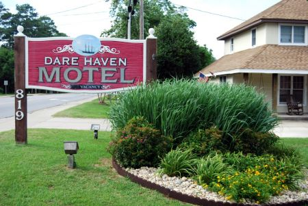 The Dare Haven Motel on the Outer Banks, Military Discount