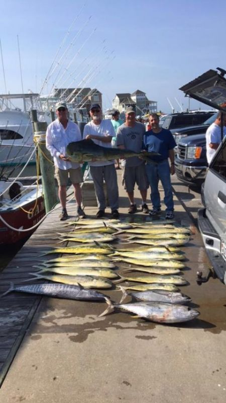 Reliance Hatteras Fishing Charters, Offshore fishing