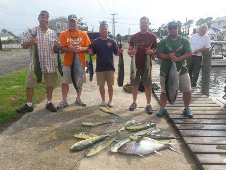 Fishin' Fannatic, Offshore Action