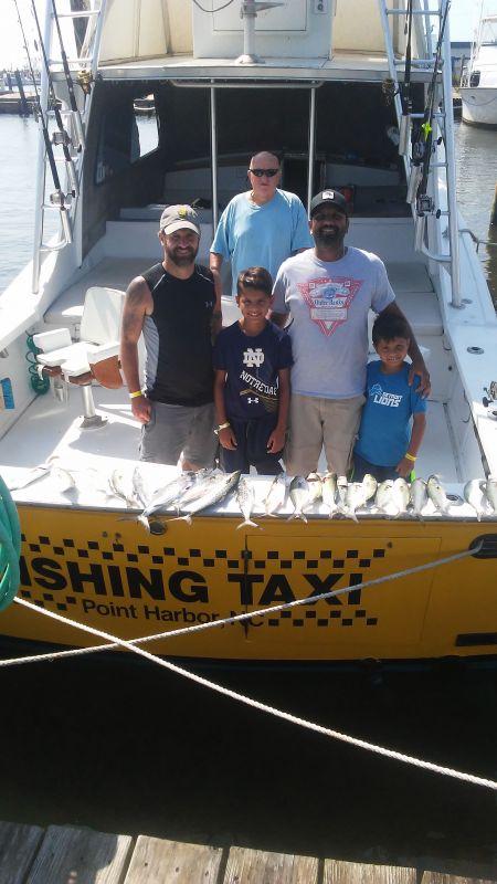 Fishing Taxi Sportfishing, Taking the boys out fishing