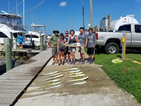 Fishin' Fannatic, Mahi Time
