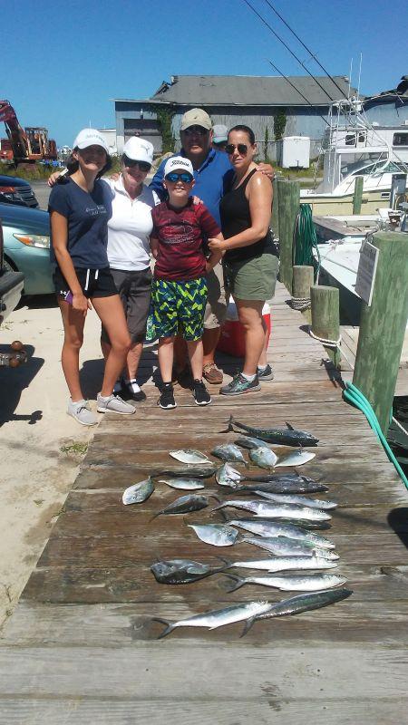 Fishing Taxi Sportfishing, 3 generations on a fishing trip