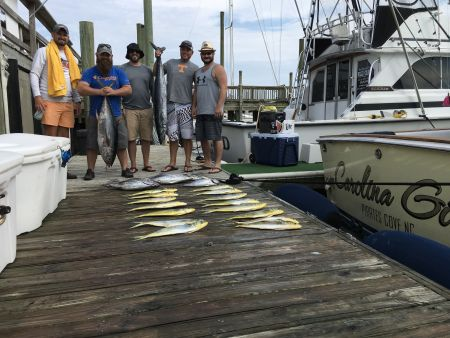 Carolina Girl Sportfishing Charters Outer Banks, Meat & Marlins