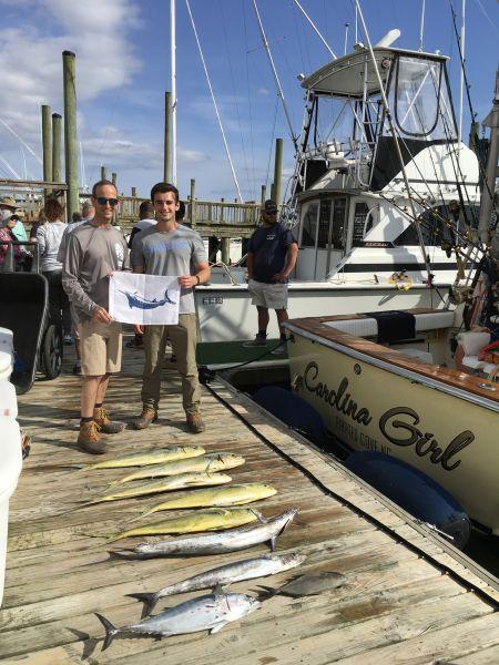 Carolina Girl Sportfishing Charters Outer Banks, Blue Marlin & Mahi
