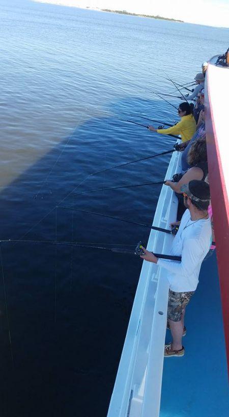 Miss Oregon Inlet Head Boat Fishing, Fishing! Fishing! Fishing!