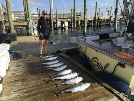 Carolina Girl Sportfishing Charters Outer Banks, Want action we got it