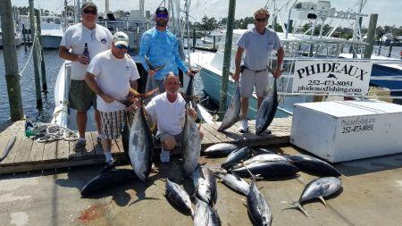 Phideaux Fishing, Christmas tuna