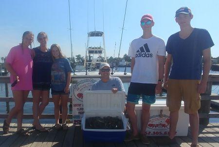 Grandpa's Charters, Blue Crab & Mackeral