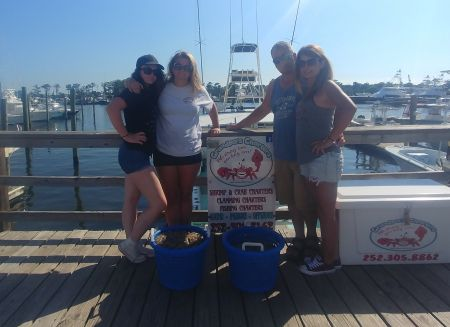 Grandpa's Charters, 11th year in a row Shrimping!