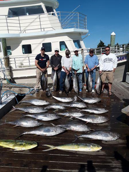 Pirate's Cove Marina, Fishing Success...