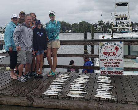 Grandpa's Charters, Rainy morning good fishing