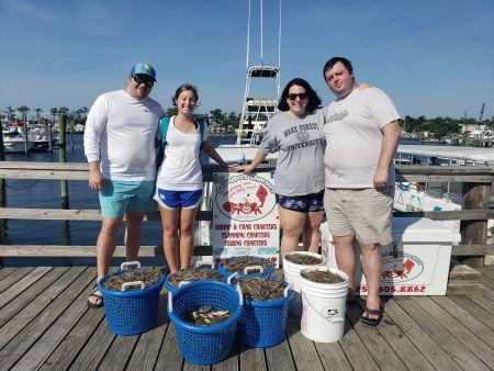 Grandpa's Charters, Shrimp, shrimp and more shrimp!