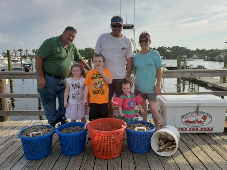 Grandpa's Charters, Shrimp: got em again today
