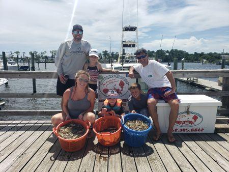 Grandpa's Charters, Shrimp, Crabs & Family Fun