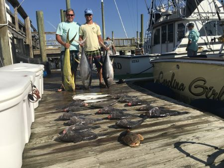 Carolina Girl Sportfishing Charters Outer Banks, Meat Smack Down