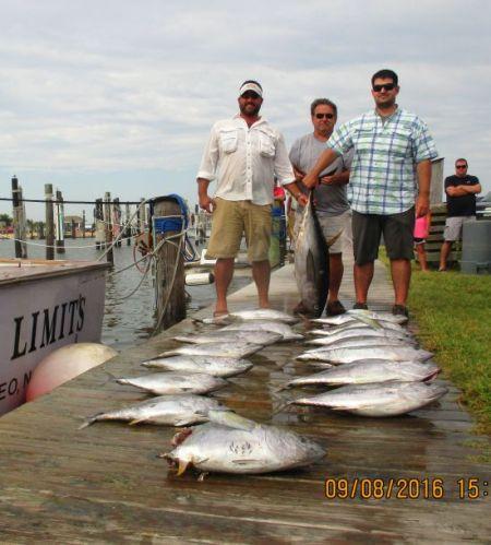 Oregon Inlet Fishing Center, Tuna Time, Baby!!