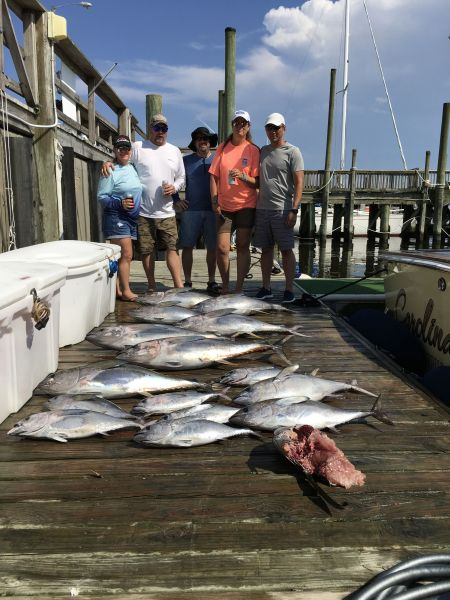 Carolina Girl Sportfishing Charters Outer Banks, Tuna !